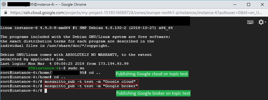 Installing MQTT Broker on Google Cloud | bytesofgigabytes com