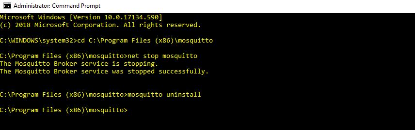 Installing MQTT Broker on Windows | bytesofgigabytes com