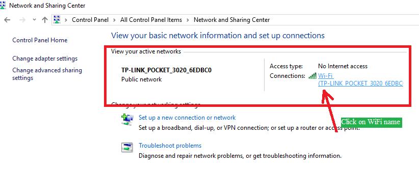 How to access the router Setup page | bytesofgigabytes com
