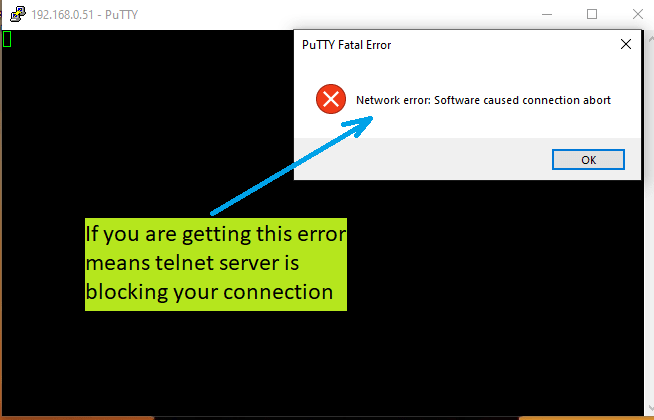 raspberry pi not able to access error