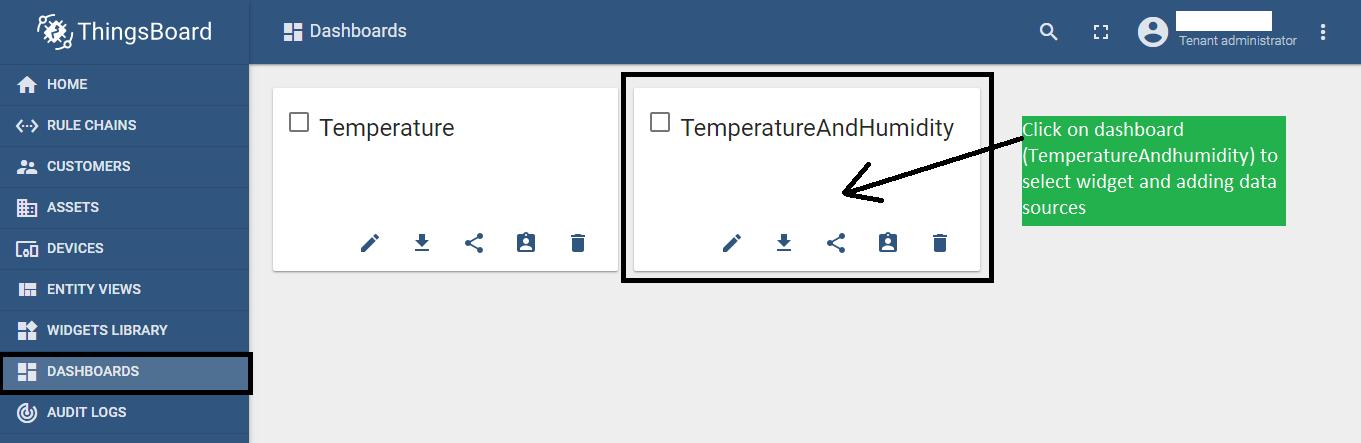 Creating a dashboard on thingsboard | bytesofgigabytes com