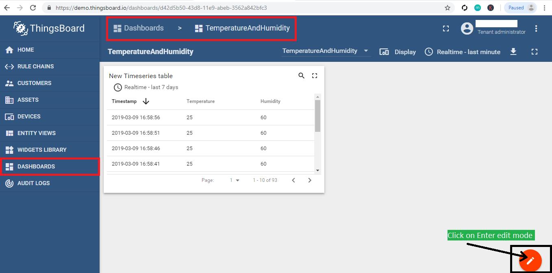 Display data on image on Thingsboard   bytesofgigabytes com
