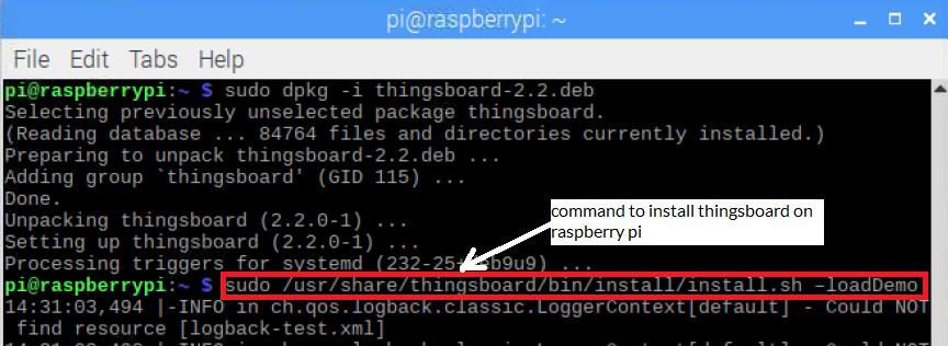 Install thingsboard on raspberry Pi   bytesofgigabytes com