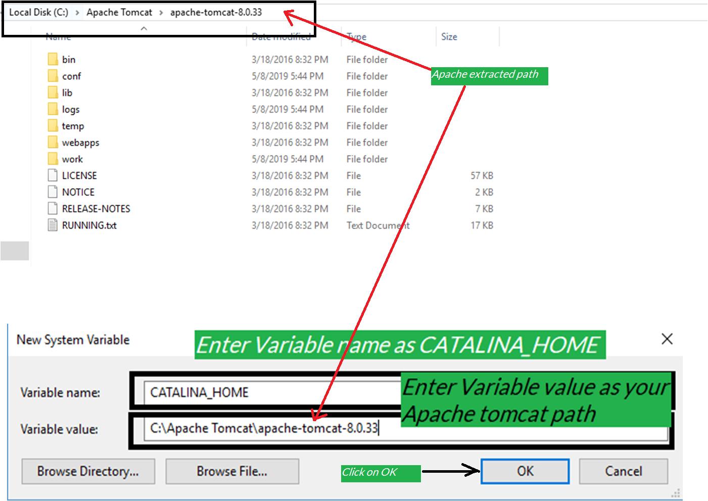 Installing apache tomcat | bytesofgigabytes com